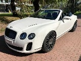 Zdjęcie Bentley continental supersports cabrio